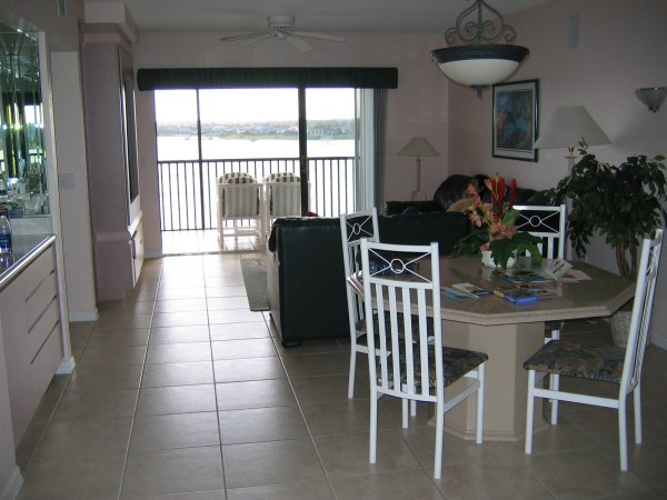 Taken from kitchen of main room